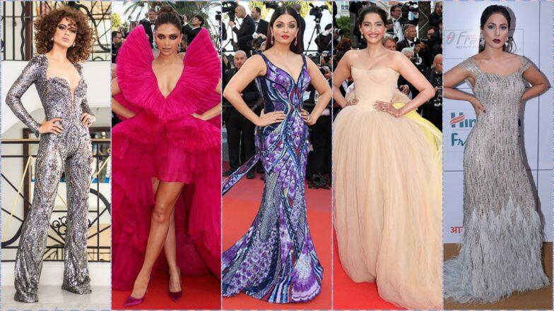 Cannes 2019 Schedule for Indian Celebs: On Which Dates Will Aishwarya Rai Bachchan, Hina Khan, Sonam Kapoor, Deepika Padukone, Kangana Ranaut Walk the Red Carpet?