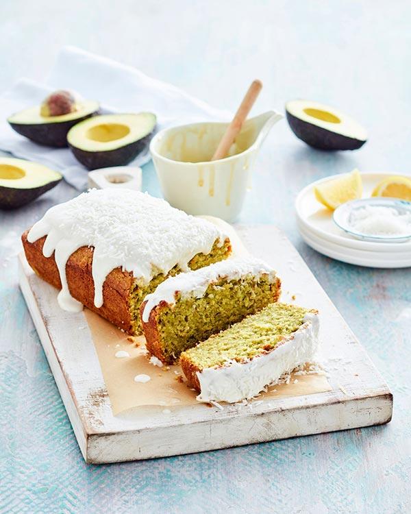 lemon avocado cake
