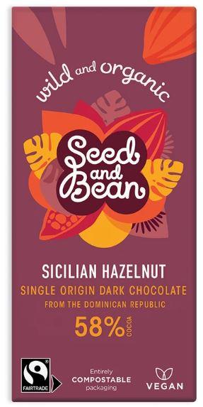 hazelnut seed and bean