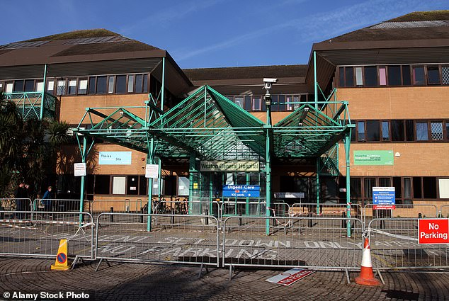 Weston General Hospital,in Weston-super-Mare, that shut to new patients has an 'emerging picture' of staff with no symptoms testing positive for Covid-19