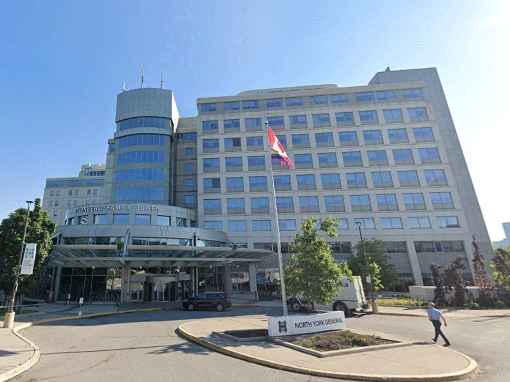 North York General Hospital.